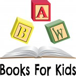 Books for Kids logo - a program from Willamette Writers that delivers books to children
