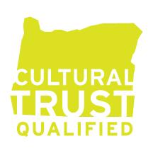 Oregon Cultural Trust qualified logo