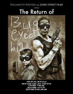 film poster for 2015 FiLMLaB winning script Bug Eyed Bill