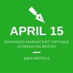 Advance Manuscript Critiques