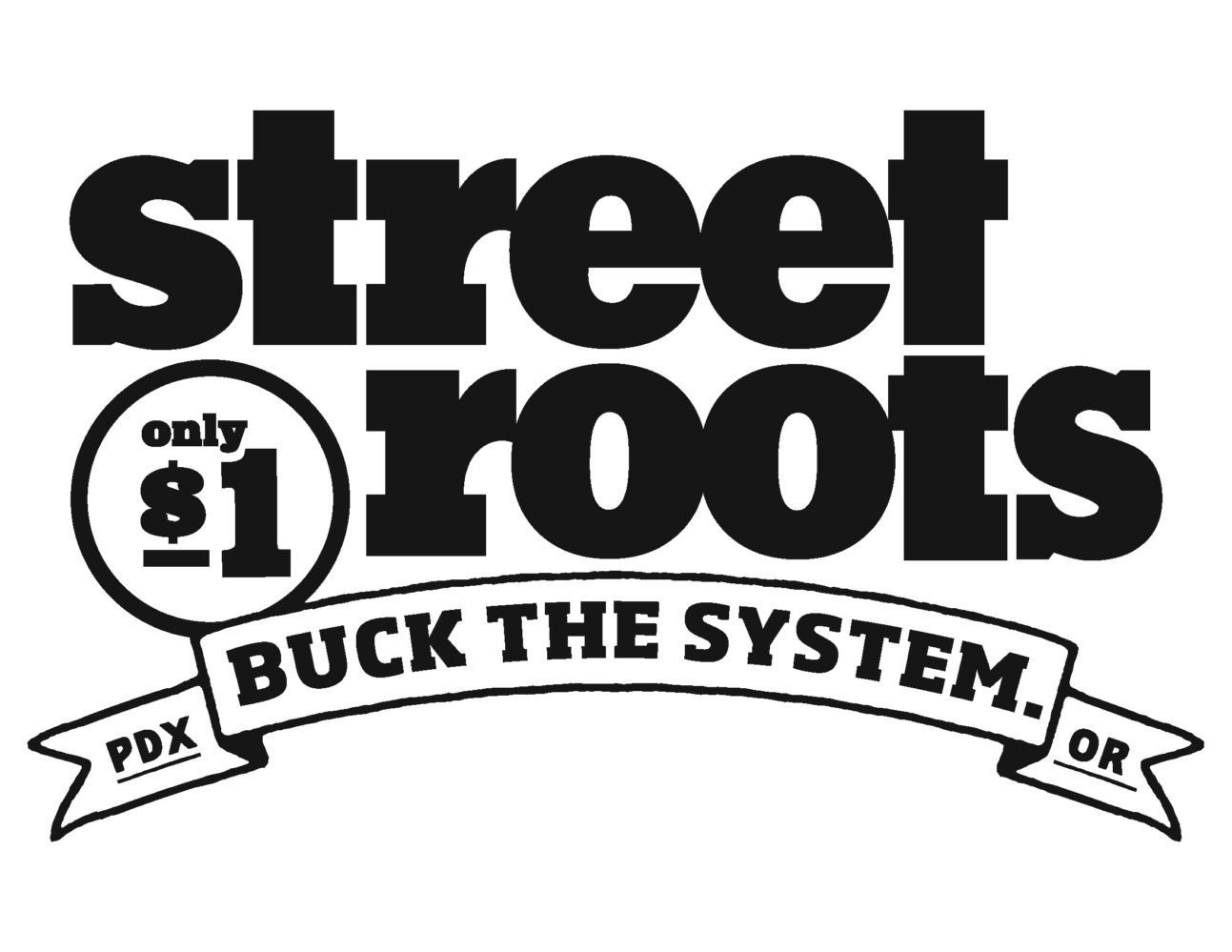 Willamette Writers Humanitarian Award winner Street Roots logo