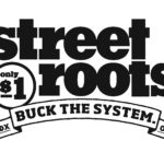 Willamette Writers Humanitarian Award winner Street Roots logo