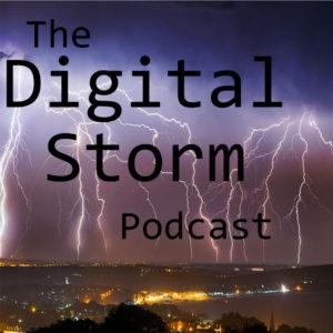 Digital Storm Album Art for Instagram
