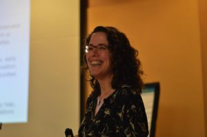 Jane Friedman's Keynote at the 2016 Willamette Writers. Photo Credit: Gail Pasternack