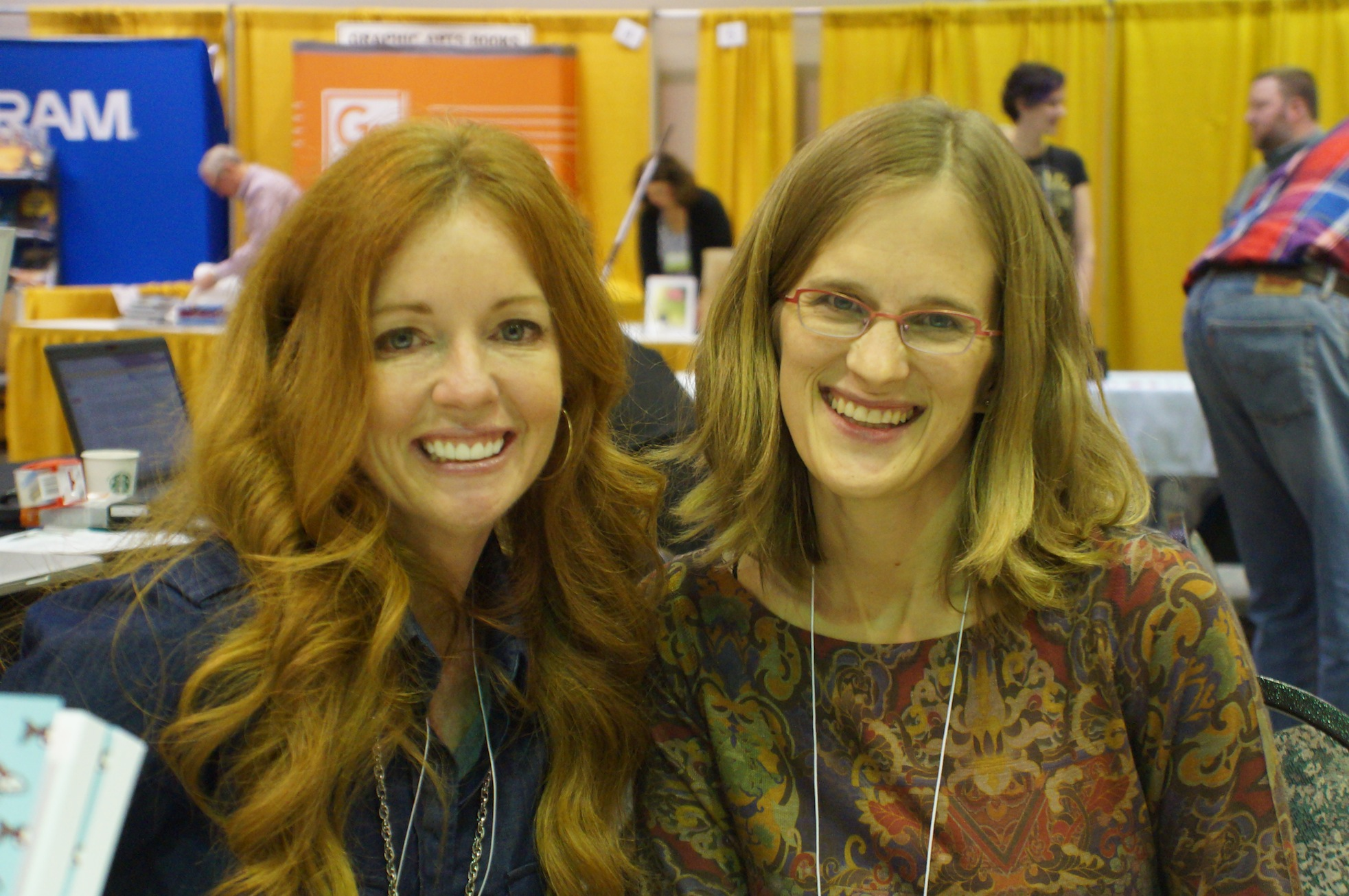 Ellen Urbani and Laura Stanfill