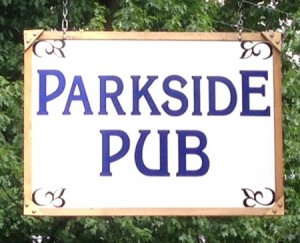 Parkside Pub sign