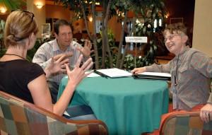 A successful screenplay discussion