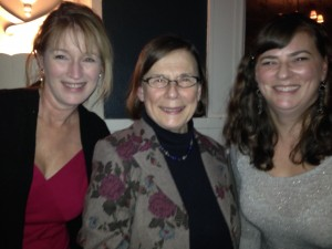 Ruth, Jennifer from Spokane, and Jenny at WIF event supporting the FiLMLaB contest