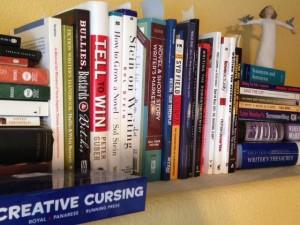 Ruth's bookshelf