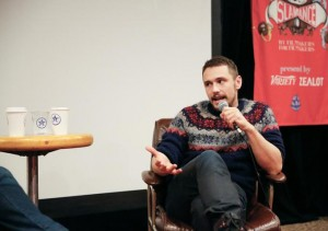 James Franco at Slamdance Festival