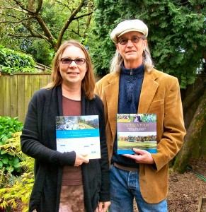 John Vincent and Lisa Holmes, popular Westmoreland authors of farming and hiking books, courtesy the Sellwood Bee