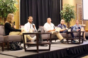 The Visual Storytellers panel was one of several events that featured top industry participants.