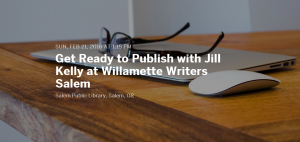 Get Ready to Publish Workshop with Jill Kelly