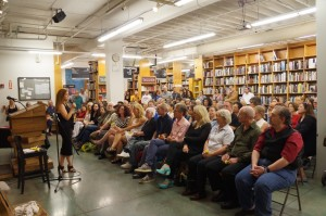 Forest Avenue Press' author, Ellen Urbani, reading at Powell's
