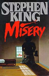 Stephen King's novel Misery - excuses is one of the obstacles that can keep you from finishing your manuscript