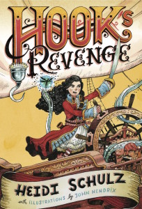 HOOK'S REVENGE cover by Heidi Schulz, Up and Coming Award Winner 2016