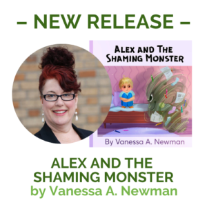 Alex and The Shaming Monster cover & author photo