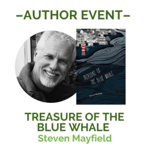 Steven Mayfield Event Announcment Graphic