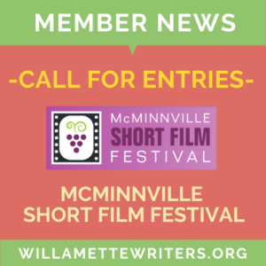 McMinniville Short Film Festival call for entries