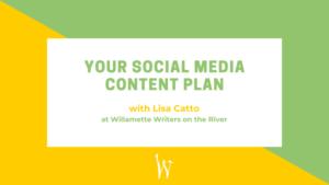 Your social media content plan