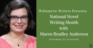 National novel writing month with maren bradley anderson