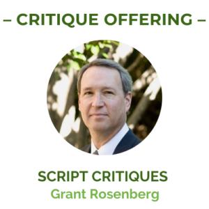 Grant Rosenberg Critiques