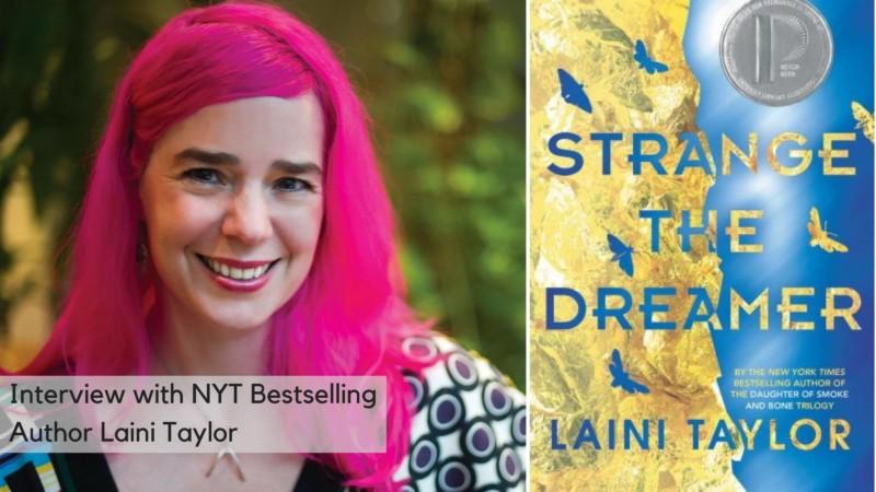 Laini Taylor at Portland Willamette Writers