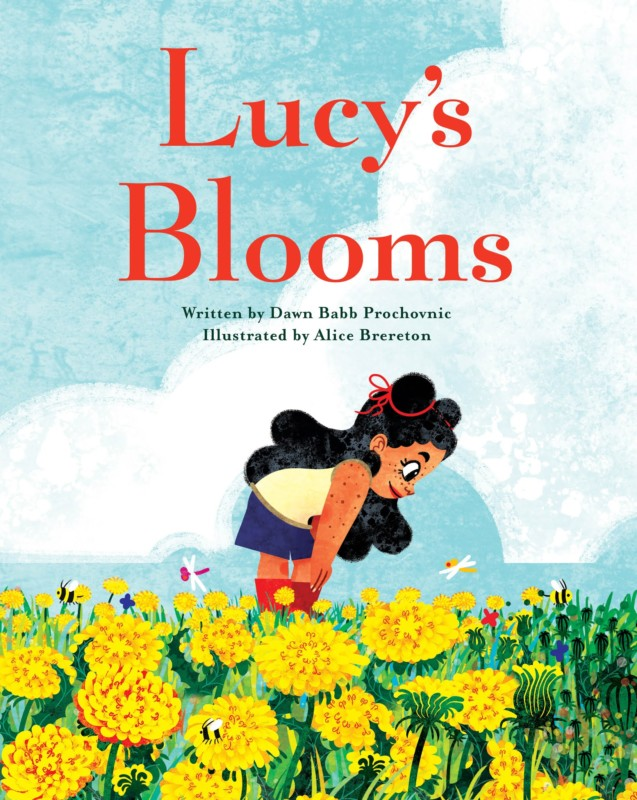 Lucy's Blooms book cover