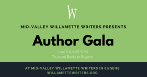 Author Gala in Eugene on June 7