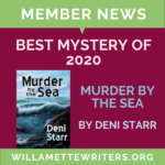 Member News Featured Image Murder by the Sea Best Mystery graphic