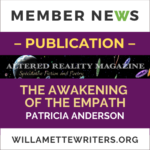 Publication, The Awakening of the Empath, by Patricia Anderson