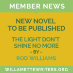 Rod Williams new book to be published