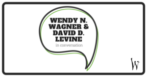 Wendy N Wagner and David D Levine in conversation