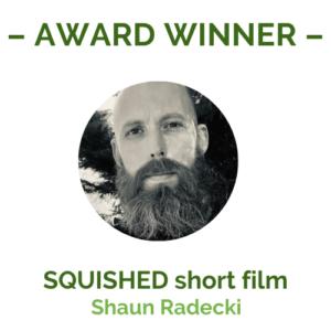 Squished by shaun radecki award