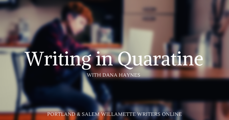Writing in Quarantine