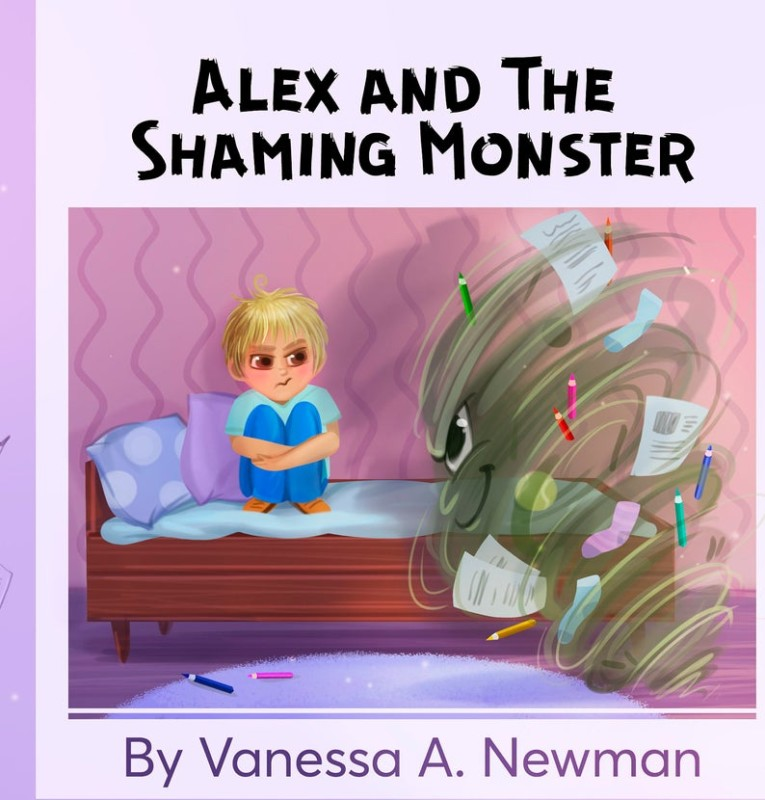 Alex and The Shaming Monster book cover