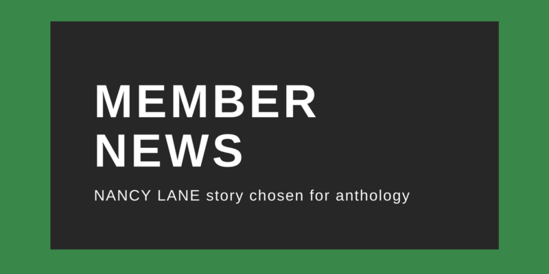 Nancy Lane story chosen for anthology