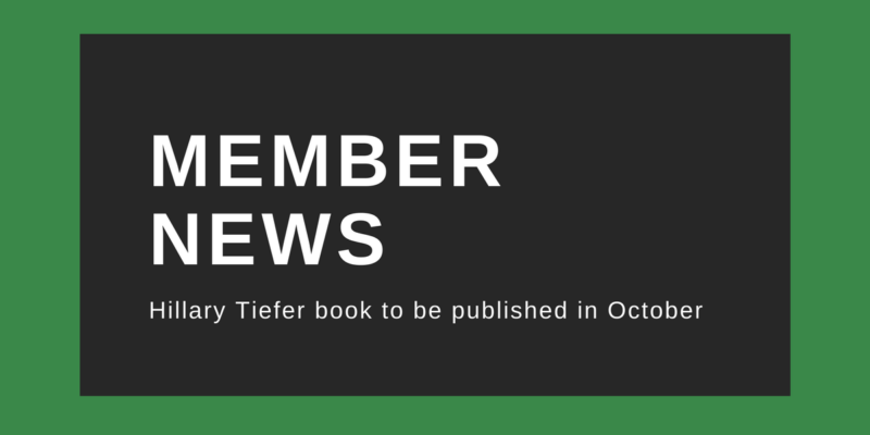 Hillary Tiefer to be published