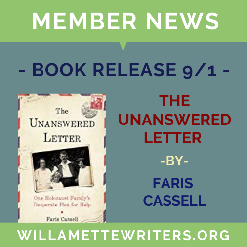 Faris Cassell unanswered letter cover