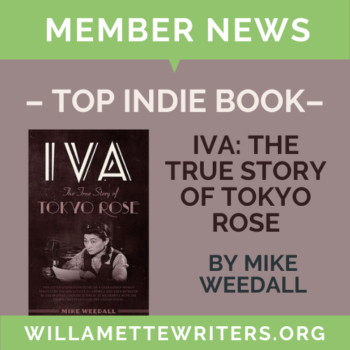 Iva: The True Story of Tokyo Rose Review Announcement graphic