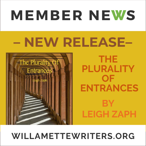 Leigh Zaph, The Plurality Of Entrances COver