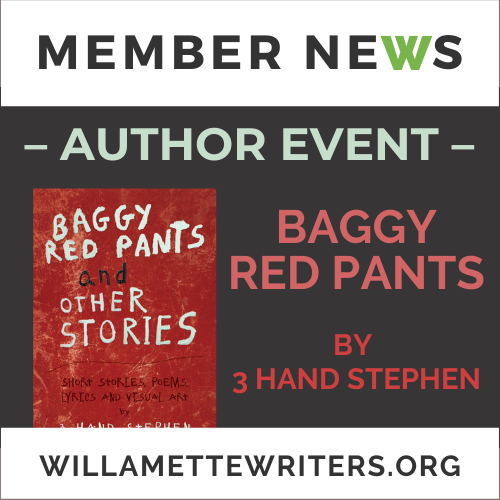 Baggy Red Pants Event Graphic