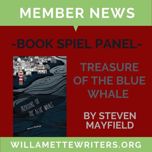 Steven Mayfield to appear on Book Spiel Panel