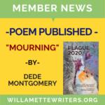 Montgomery Mourning Plague 2020 Anthology