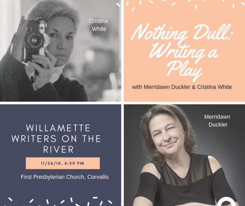 Nothing dull: writing a play